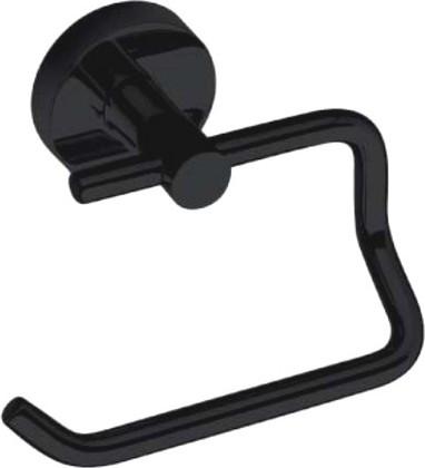 Dark 104112040 ЧёрныйАксессуары для ванной<br>Держатель для туалетной бумаги без крышки Bemeta Dark 104112040. Цвет изделия - черный.<br>