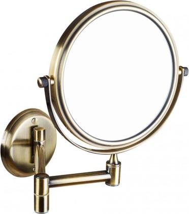 Cosmetic mirrors 106101697 БронзаАксессуары для ванной<br>Косметическое зеркало Bemeta Cosmetic mirrors 106101697  без подсветки 133мм. Изделия разработаны в скромном, привлекательном и вневременном дизайне. Продукция марки Bemeta изготовлена из качественных материалов что приводит к их длительному сроку службы. Цвет изделия - бронза.<br>