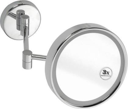 Cosmetic mirrors 112101148 ХромАксессуары для ванной<br>Косметическое зеркало Bemeta Cosmetic mirrors 112101148 с подсветкой.  2 типа (холодный, теплый свет). Цвет изделия - хром.<br>