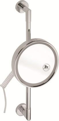 Cosmetic mirrors 112101168 ХромАксессуары для ванной<br>Косметическое зеркало Bemeta Cosmetic mirrors 112101168 с подсветкой. 2 типа : холодный, теплый свет. Цвет изделия - хром.<br>