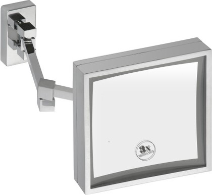 Cosmetic mirrors 112101208 ХромАксессуары для ванной<br>Косметическое зеркало Bemeta Cosmetic mirrors 112101208  с подсветкой. 2 типа: холодный, теплый свет. Цвет изделия - хром.<br>