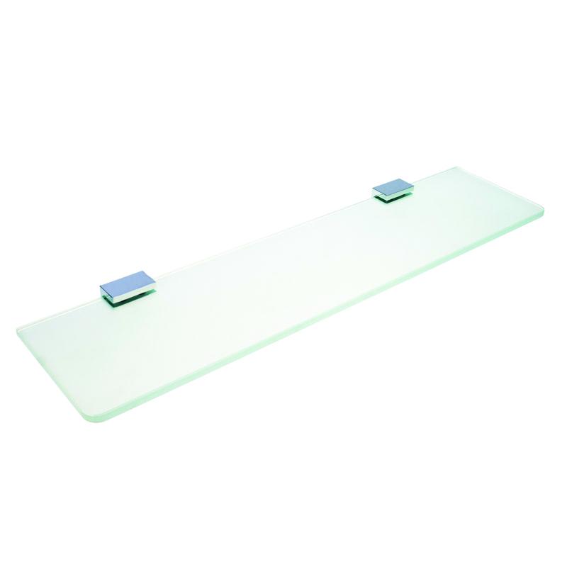 Via 135002242 ХромАксессуары для ванной<br>Полка стеклянная Bemeta Via 135002242. Цвет изделия - хром.<br>