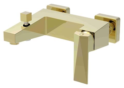 Смеситель для ванны Bravat Iceberg F676110G-01 Золото смеситель для кухни bravat iceberg f776110g 2