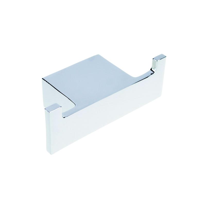 Via 135006032 ХромАксессуары для ванной<br>Крючок для полотенец Bemeta Via 135006032 двойной. Цвет хром.<br>