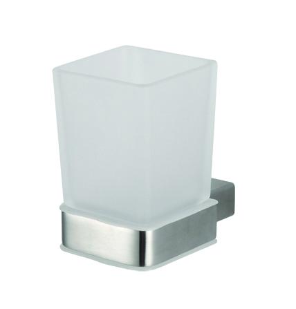 Via 135011012 ХромАксессуары для ванной<br>Держатель для зубных щеток Bemeta Via 135011012 со стаканами. Цвет хром<br>