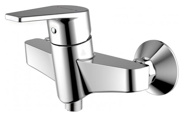 Line F95299C-1 ХромСмесители<br>Смеситель для душа Bravat Line F95299C-1. Корпус латунный. Ручка цинковая. Керамический картридж Kerox 35 мм. Поток воды 12 л/мин при давлении 0.3 MPa.<br>