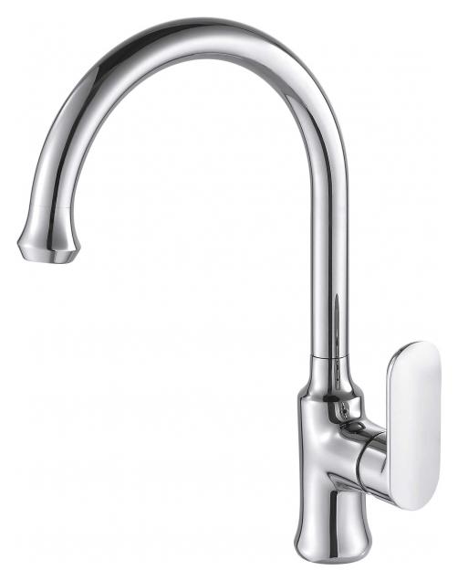Opal F7125183CP-RUS ХромСмесители<br>Смеситель для кухни Bravat Opal F7125183CP-RUS. Корпус латунный. Ручка цинковая. Керамический картридж Sedal 35 мм. Гибкая подводка 450 мм M10-G1/2 SS 2 шт. Аэратор Neoperl. Поток воды 8,3 л/мин при давлении 0.3 MPa.<br>