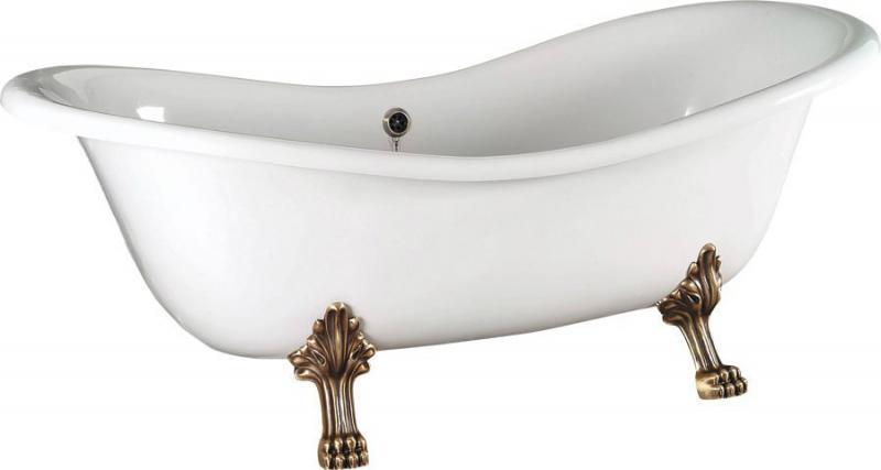 Charleston 188x80 38132 БелаяВанны<br>Акриловая ванна Alpen Charleston на ножках.<br>