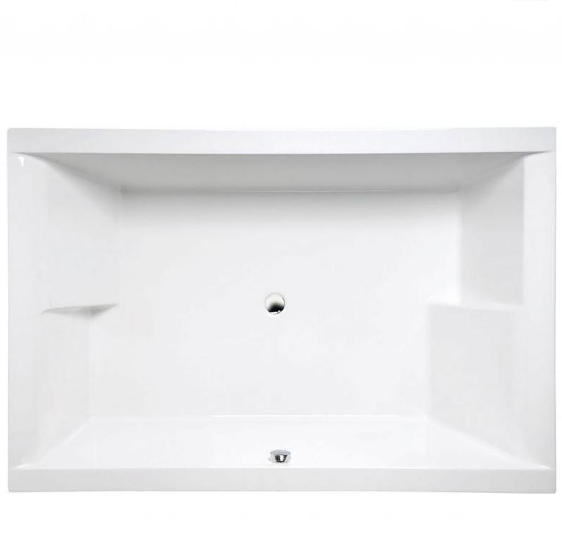 Dupla 180х120 13611 БелаяВанны<br>Акриловая ванна Alpen (Альпен) Dupla 180x120 прямоугольной формы, встраиваемая. Устанавливается на ножки или на каркас. Ванна изготовлена из 100% акрилового листа.<br>