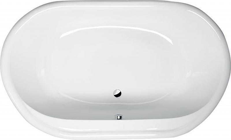 Eola 190x113 15111 БелаяВанны<br>Овальная акриловая ванна Alpen Eola  190x113. Данное изделие создано из высококачественного 100% акрилового листа. Стоимость указана только за ванну, дополнительное оборудование приобретается отдельно.<br>