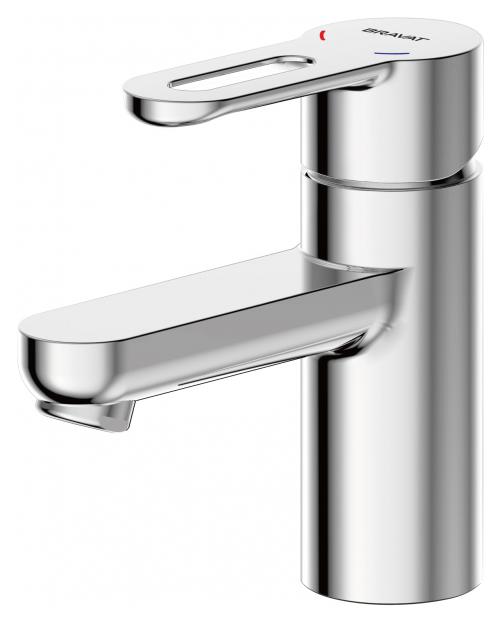 Stream-D F137163C ХромСмесители<br>Смеситель для раковины Bravat Stream-D F137163C. Корпус латунь. Ручка цинк. Керамический картридж Kerox 35 мм. Гибкая подводка 450 мм M10-G1/2 SS 2 шт. Аэратор Neoperl. Поток воды 8,3 л/мин при давлении 0.3 MPa.<br>