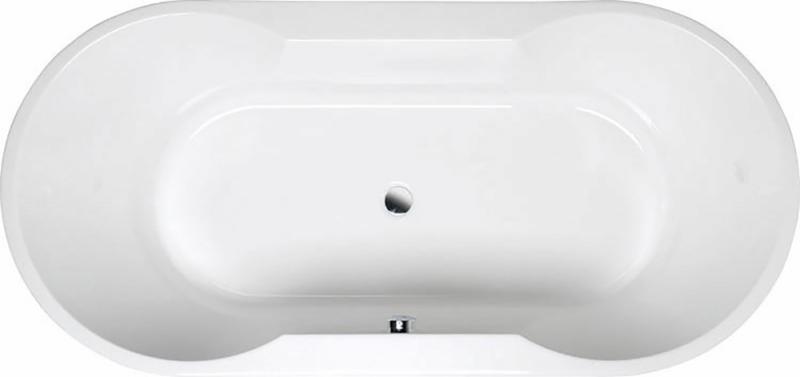 IO 180х85 16611 БелаяВанны<br>Практичная овальная акриловая ванна Alpen IO объединяет в себе функциональное воплощение современного стиля. Данное изделие выполнено из 100% акрилового листа, устойчивого к чистящим химическим средствам.<br>