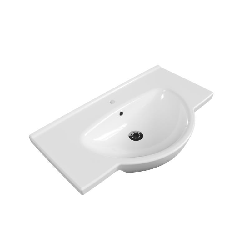 Nati S-UM-NAT801-w БелаяРаковины<br>Раковина мебельная Cersanit Nati S-UM-NAT801-w, цвет - белый.<br>