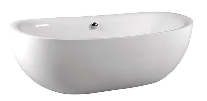 Zasu 180x81 69611 БелаяВанны<br>Акриловая ванна Alpen Zasu 180x81 см, овальная. Изготовлена из 100% акрилового листа, устойчивого к повреждениям и чистящим средствам.<br>