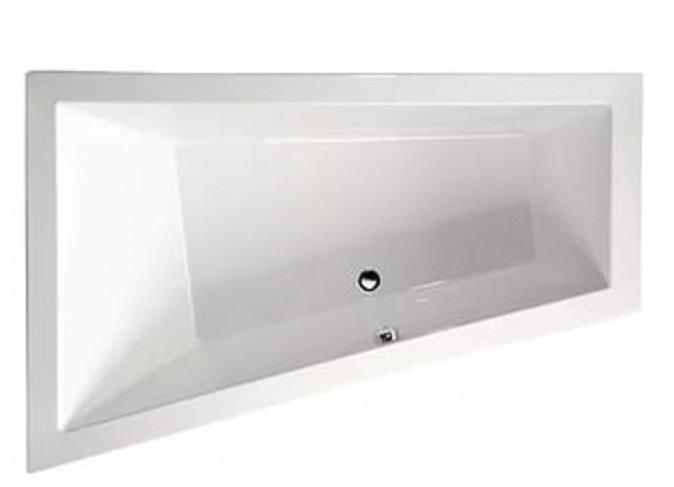 Triangl 180x120 19611 LВанны<br>Акрилова ванна Alpen Triangl характеризуетс строгость,  лаконичность форм и монолитность внешнего облика. Данна асимметрична модель выполнена из 100% акрилового листа, который устойчив к агрессивным химическим средам. Гаранти производител на то изделие 10 лет.<br>