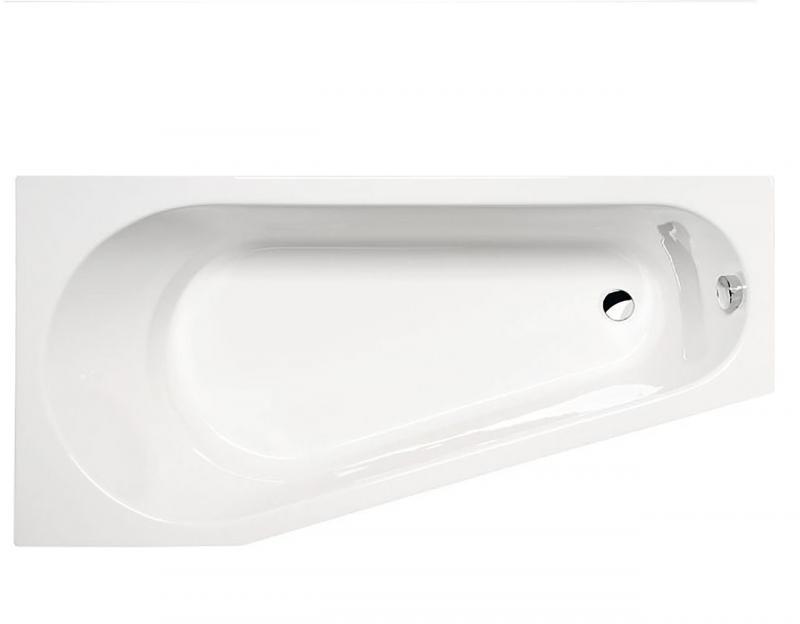 Projekta 160x80 20111 LВанны<br>Ярко выраженный современный дизайн и строгие контуры асимметричной акриловой ванны Alpen Projekta готовы дополнить любой интерьер ванной комнаты. Изделие выполнено из 100% акрилового листа, который обладает особой прочностью и гигиеничностью. Гарантия производителя на данную модель 10 лет.<br>
