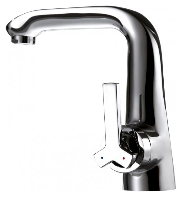 Waterfall F173107C ХромСмесители<br>Смеситель для раковины Bravat Waterfall F173107C. Корпус латунный. Ручка цинковая. Керамический картридж Kerox 35 мм. Гибкая подводка 450 мм M10-G1/2 SS 2 шт. Аэратор Neoperl. Поток воды 8,3 л/мин при давлении 0.3 MPa.<br>