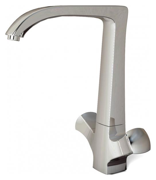Whirlpool F778112C ХромСмесители<br>Смеситель для кухни Bravat Whirlpool F778112C. Корпус латунь. Ручка цинк. Керамические кран-буксы G1/2 SCC. Гибкая подводка 450 мм M10-G1/2 SS 2 шт. Аэратор Neoperl. Поток воды 8,3 л/мин при давлении 0.3 MPa.<br>