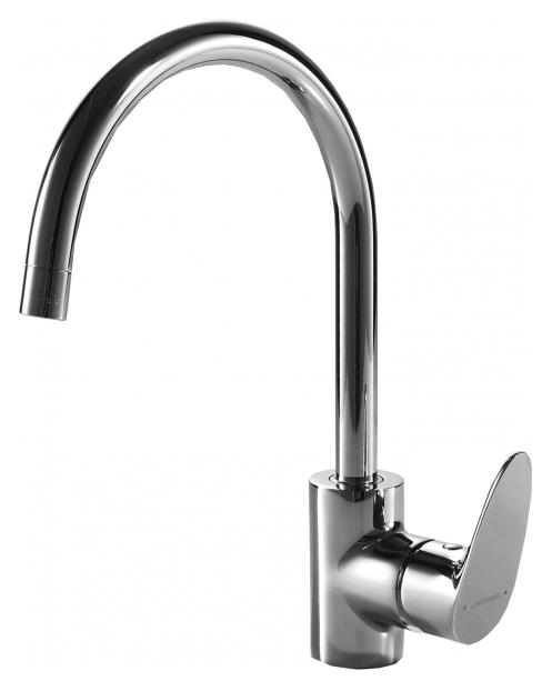 Drop F74898C-1 ХромСмесители<br>Смеситель для кухни Bravat Drop F74898C-1. Корпус латунь. Ручка цинк. Керамический картридж Kerox 35 мм. Гибкая подводка 450 мм M10-G1/2 SS 2 шт. Аэратор Neoperl. Поток воды 12 л/мин при давлении 0.3 MPa.<br>