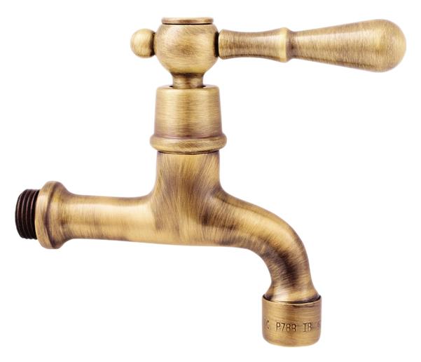 Morava retro MK493SM бронзовый, с ручкой МК5Смесители<br>Настенный кран для одного типа воды Rav Slezak Morava retro MK593SM с аэратором, изготовлен из высококачественной латуни, которая исключает какую-либо коррозию. Кран может быть установлен в кухне для фильтрованной воды. Качественная керамическая кран-букса, гарантирует долговечность и мягкий поток воды. Подвод воды G1/2. В комплекте кран и комплект крепления.<br>