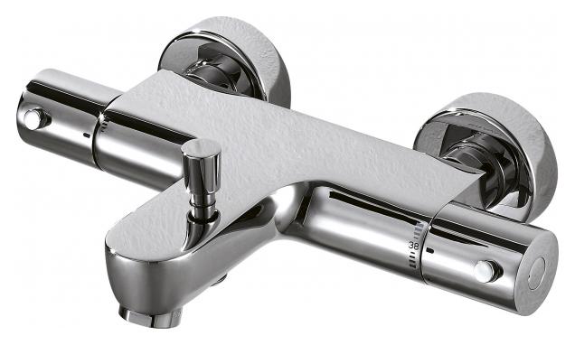 Смеситель для ванны Bravat Stream F63984C-01B с термостатом Хром цены онлайн