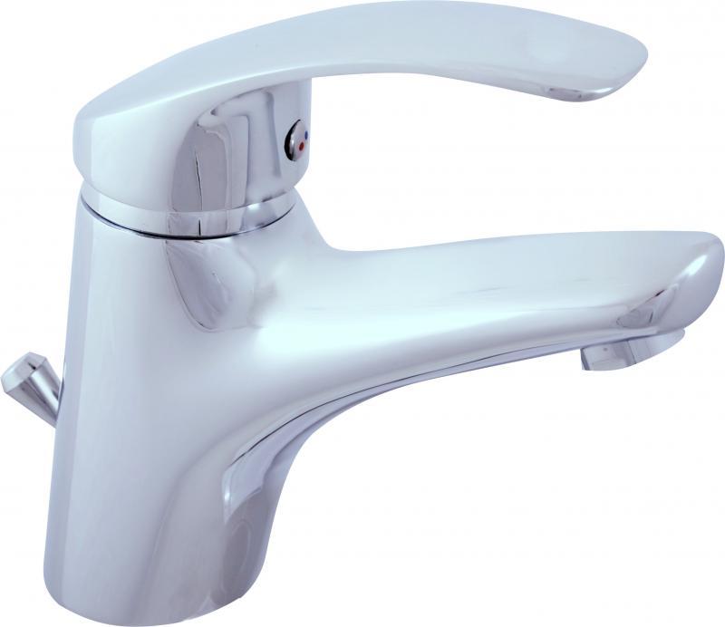 """Mississippi MS027.5K Хром с ручкой 5Смесители<br>Смеситель для умывальника Rav Slezak Mississippi MS027.5KLUX с донным клапаном-металлический. Гибкая подводка 1/2"""" длинной 35см. Керамический катридж 40мм Kerox, производство Венгрия /экономит воду на 50%<br>"""