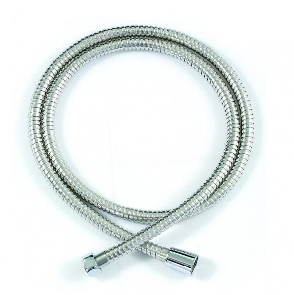 P7234CP ХромДушевые гарнитуры<br>Душевой шланг Bravat P7234CP. Материал нержавеющая сталь. Длина 150 см. С защитой от перекручивания.<br>