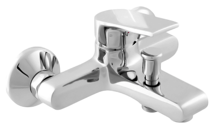 Colorado CO154.5 хромСмесители<br>Смеситель для ванны Rav Slezak Colorado CO154.5 монолитный, однорычажный, без душевого гарнитура, изготовлен из высококачественной латуни, которая исключает какую-либо коррозию. Металлическая рукоятка. Аэратор Neoperl представляет собой ситечко антикальк с резиновой насадкой, специальная конструкция ситечка позволяет экономить расход воды и упрощает чистку известкового налёта. Качественный керамический картридж 35 мм Kerox, производство Венгрия, гарантирует долговечность и мягкий поток воды. Подвод воды G1/2. Кнопочный переключатель душ/излив. Цена указана за смеситель, отражатели и комплект крепления. Все остальное приобретается дополнительно.<br>