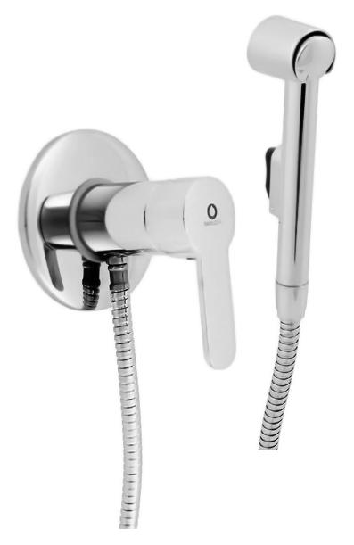 Zambezi ZA047/1 хромГигиенические души<br>Гигиенический душ Rav Slezak Zambezi ZA047/1 со встраиваемым, однорычажным смесителем, изготовленным из высококачественной латуни, которая исключает какую-либо коррозию. Смеситель с металлической рукояткой, с качественным керамическим картриджем 40 мм Kerox, производство Венгрия, гарантирует долговечность и мягкий поток воды. Металлическая душевая лейка с нажимной кнопкой. Металлический душевой шланг длиной 1000 мм. В комплекте: внешняя и внутренняя части смесителя, душевая лейка, настенный держатель для лейки, шланг и комплект крепления.<br>