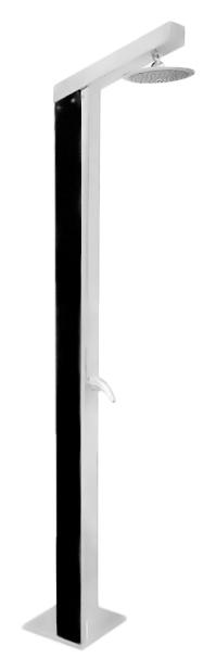 Z1130 хромДушевые панели<br>Напольная душевая панель Rav Slezak Z1130 из нержавеющей стали с однорычажным смесителем и верхним душем. Круглый верхний душ диаметром 200 мм. Высота панели 2210 мм. Гибкая подводка G1/2, длиной 200 мм. В комплекте душевая панель, смеситель, верхний душ, гибкая подводка и комплект крепления.<br>