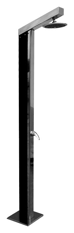 T1130 хромДушевые панели<br>Напольная душевая панель Rav Slezak T1130 из нержавеющей стали, с солнечными фотоэлементами, с однорычажным смесителем и верхним душем. Круглый верхний душ диаметром 200 мм. Высота панели 2135 мм. Гибкая подводка G1/2, длиной 350 мм. В комплекте душевая панель, смеситель, верхний душ, гибкая подводка и комплект крепления.<br>