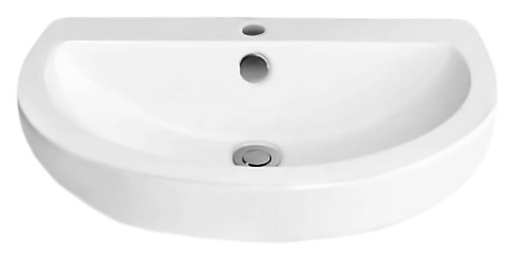 Dune BB9328DL белаяРаковины<br>Раковина BelBagno Dune BB9328DL с одним отверстием под смеситель, с переливом. Округлые, изящные линии раковины гармонично впишутся в различные интерьеры ванных комнат. По желанию раковину можно дополнить пьедесталом. Цена указана за чашу раковины. Все остальное приобретается дополнительно.<br>