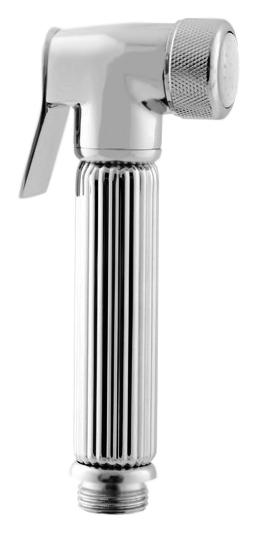 KS0005 хромГигиенические души<br>Лейка для гигиенического душа Rav Slezak KS0005 из металла с хромированным покрытием, с нажимной кнопкой.<br>