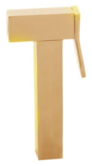 KS0007Z золотаяГигиенические души<br>Лейка для гигиенического душа Rav Slezak KS0007Z из металла, с нажимной кнопкой.<br>