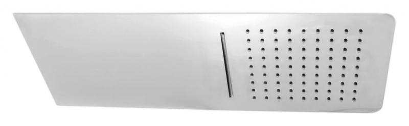 KS0010 хромВерхние души<br>Верхний потолочный душ Rav Slezak KS0010 из нержавеющей стали, с двумя режимами: тропический дождь и водопад. Подключение воды G1/2. Благодаря функции EasyClean, известковый налет удаляется легким прикосновением руки.<br>