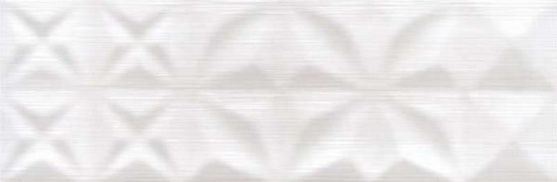 Керамическая плитка Mei Delicate Lines Белый Структура O-DEL-WTU052 настенная 25х75 см
