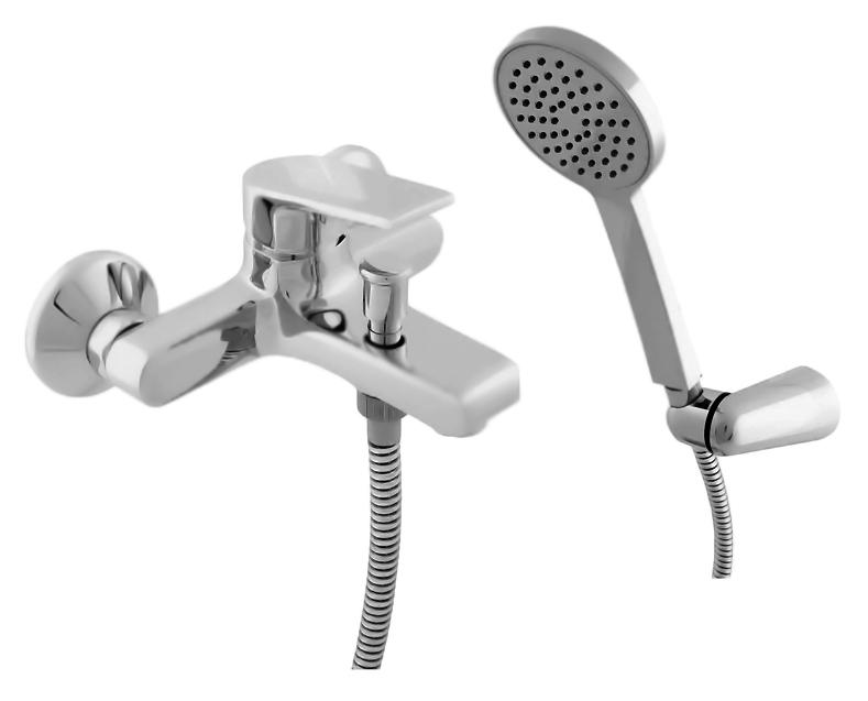Colorado CO154.5/2 хромСмесители<br>Смеситель для ванны Rav Slezak Colorado CO154.5/2 монолитный, однорычажный, с душевым гарнитуром, изготовлен из высококачественной латуни, которая исключает какую-либо коррозию. Металлическая рукоятка. Аэратор Neoperl представляет собой ситечко антикальк с резиновой насадкой, специальная конструкция ситечка позволяет экономить расход воды и упрощает чистку известкового налёта. Качественный керамический картридж 35 мм Kerox, производство Венгрия, гарантирует долговечность и мягкий поток воды. Подвод воды G1/2. Кнопочный переключатель душ/излив. Подвижный, пластиковый, настенный держатель для лейки. Пластиковая душевая лейка с одним режимом. Пластиковый душевой шланг 1500 мм. В комплекте смеситель, шланг, душевая лейка, настенный держатель лейки и комплект крепления.<br>