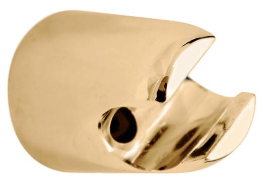 PD0004Z золотойДушевые гарнитуры<br>Настенный держатель для лейки Rav Slezak PD0004Z фиксированный, из пластика.<br>