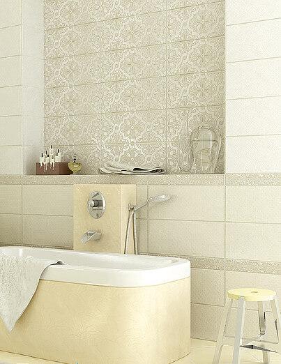 Керамическая плитка Azori Sanmarco Crema Palazzio 20,1х50,5 декор стоимость