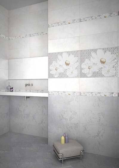Керамическая плитка Azori Sfumato Beige Paisley 40,2х50,5 панно