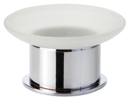 Omega 138108191 Хром/ПрозрачныйАксессуары для ванной<br>Мыльница Bemeta Omega 138108191. Материал латунь/стекло. Монтаж настольный. Ширина 11 см. Глубина 11 см. Высота 5 см. Цвет держателя хром, цвет мыльницы прозрачный. Фактура держателя глянцевая, фактура мыльницы матовая.<br>