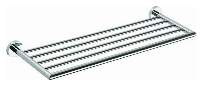 Neo 104205085 ХромАксессуары для ванной<br>Полочка Bemeta Neo 104205085. Материал нержавеющая сталь. Монтаж подвесной. Ширина 65,5 см. Глубина 21,5 см. Высота 5.5 см. Цвет хром. Фактура глянцевая.<br>