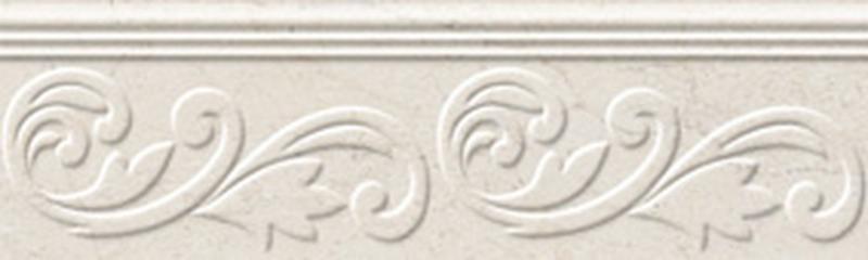 Керамический бордюр Golden Tile Crema Marfil Fusion бежевый 9х30 см