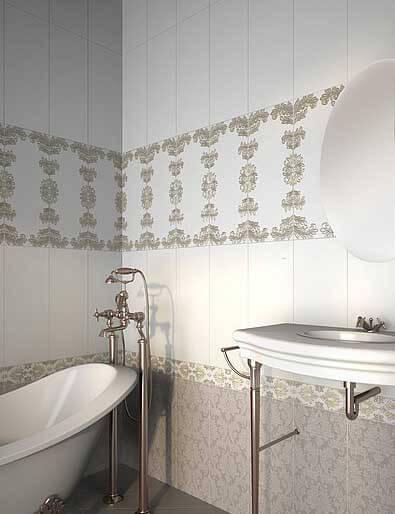 цена на Керамическая плитка Azori Chateau Mocca 20,1х50,5 настенная