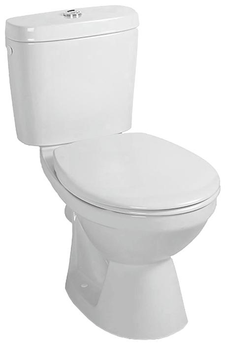 Saval 2.0 7G031001 в комплекте с бачком 7G382101 и сиденьем  8780G101 БелыйУнитазы<br>Унитаз напольный Gustavsberg Saval 2.0 7G031001 в комплекте с бачком 7G382101  с двойным сливом 3/6 и сиденьем с крышкой без микролифта 8780G101. Цвет белый.<br>