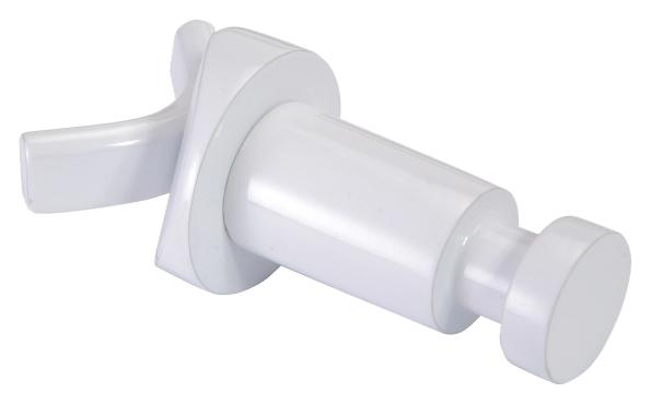 Rawell 104506124 БелыйАксессуары для ванной<br>Крючок Bemeta Rawell 104506124. Материал латунь. Монтаж подвесной/ на радиатор. Ширина 3,2 см. Глубина 8 см. Высота 3,2 см. Цвет белый. Фактура матовая.<br>