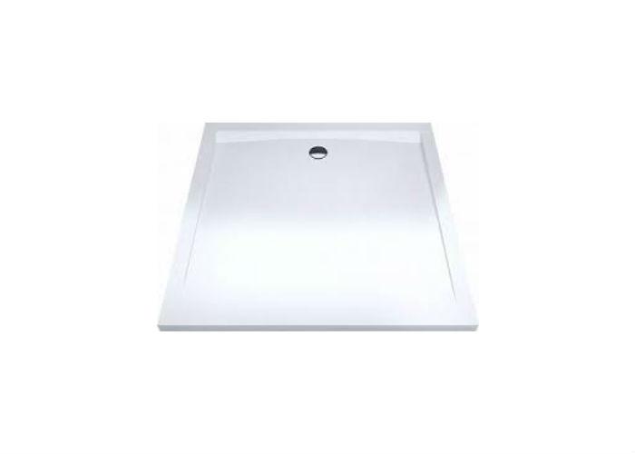 Forma 100  БелыйДушевые поддоны<br>Низкий квадратный душевой поддон Excellent Forma 100x100 см из акрила. Цвет белый.<br>