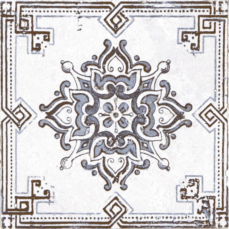 Керамическая плитка Absolut Keramika Decor m2 Grey 20х20 настенная Benfica
