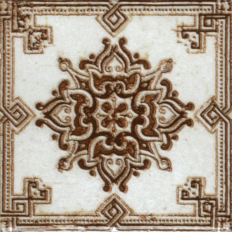 Керамическая плитка Absolut Keramika Decor m2 Red 20х20 настенная Benfica