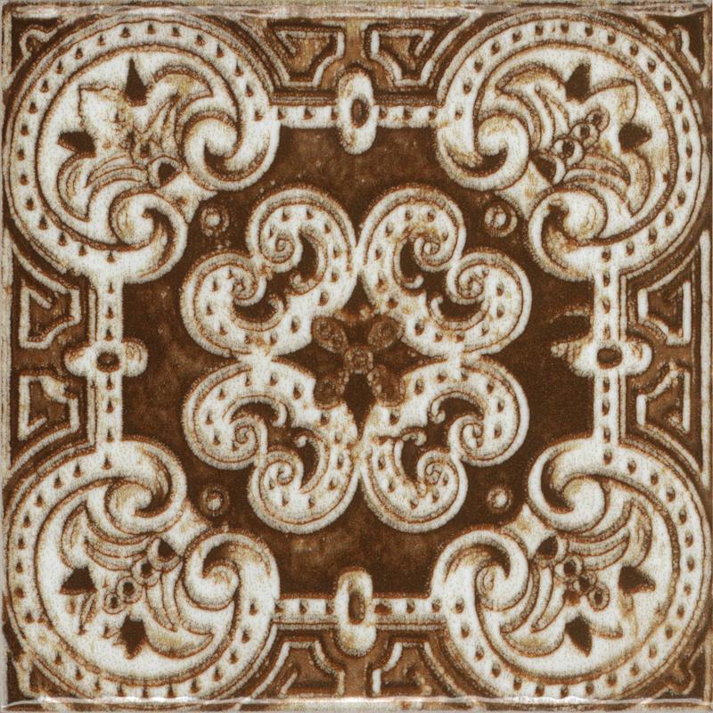Керамическая плитка Absolut Keramika Decor m2 Porto Red 20х20 настенная Бенфика все цены